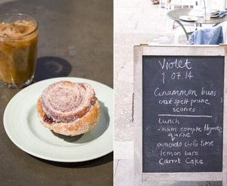 "London Day 3 - Cinnamon Buns were stolen! Bakery ""Violet"" is missing some sweet goods"