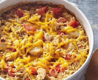 Gluten and Dairy Free Chicken and Rice Casserole