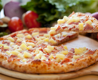 Receta: Pizza hawaiana