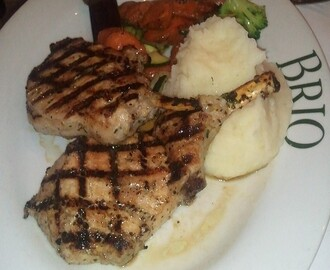 Tuscan Grilled Pork Chops