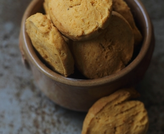 Cheese Cookies :Eggless Indian Style Salted Cheese Biscuits
