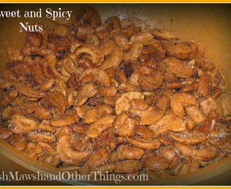 Sweet and Spicy Cashews