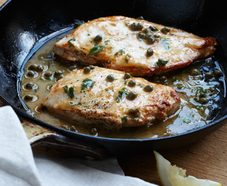 Piquant Chicken with Lemon and Capers