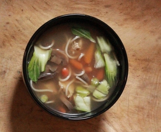 Chinese Chicken and Vegetable Soup