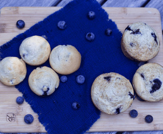 Basic Muffin Mix Recipe: Simple Blueberry Muffins