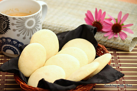 Butter Cookies or Kerala Nankatta Recipe