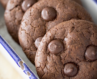 Cookie de Chocolate e Gotas