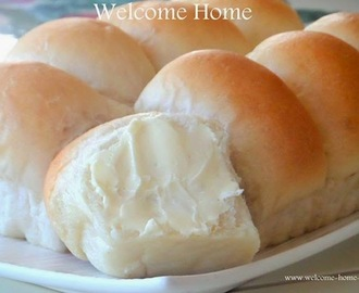 Homemade Dinner Rolls (Yeast Rolls)