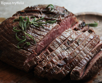 Kuvetta grilliin: Flank Steak