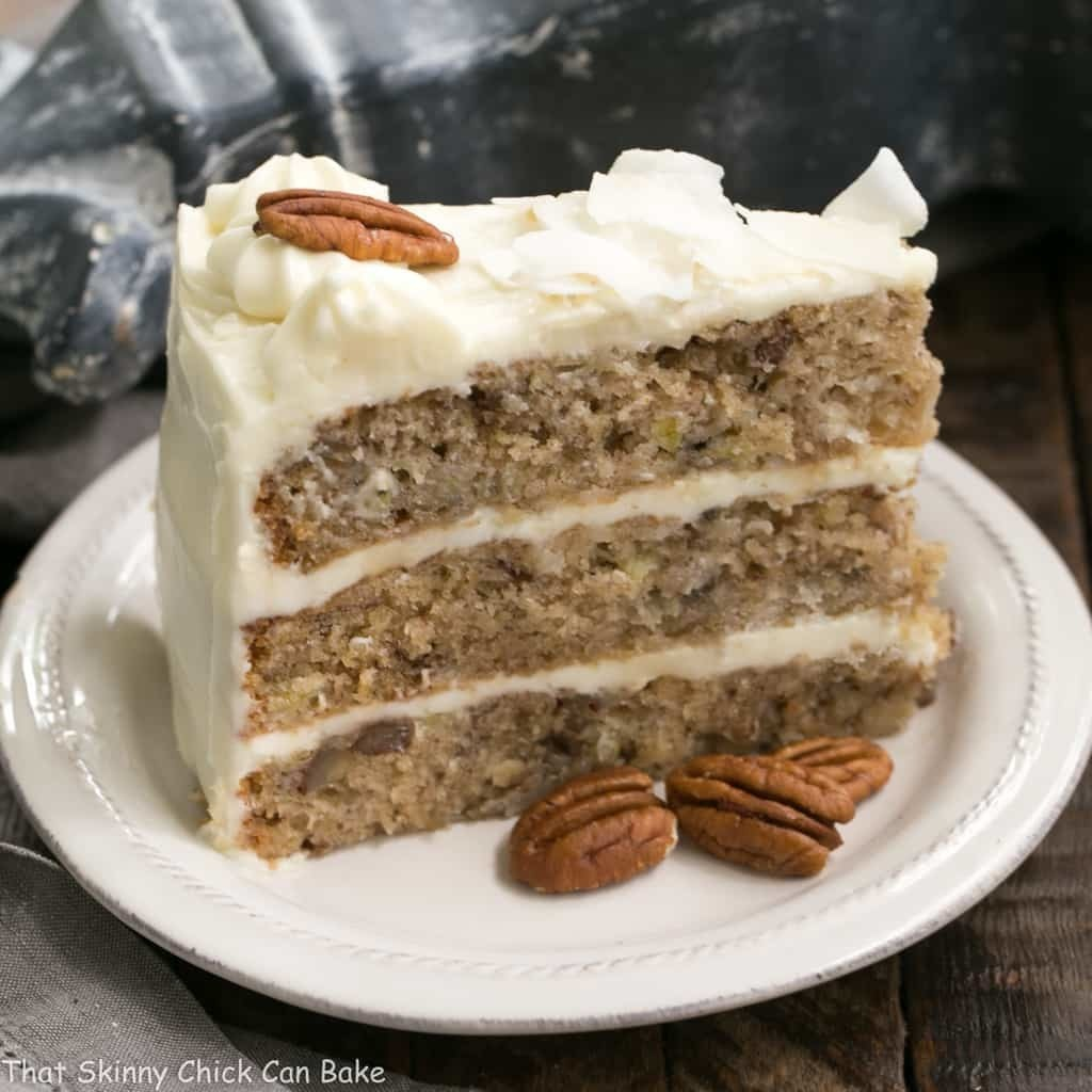Classic Hummingbird Cake with Coconut