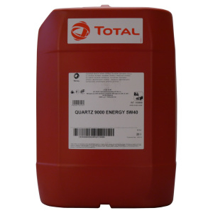Total QUARTZ 9000 ENERGY 5W-40 20 Liter Kanister