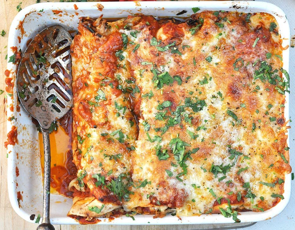Rich & Spicy Enchiladas
