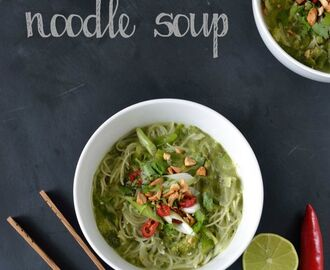 Recipe: Thai Coconut Noodle Soup (& how to rescue curdled coconut milk!)