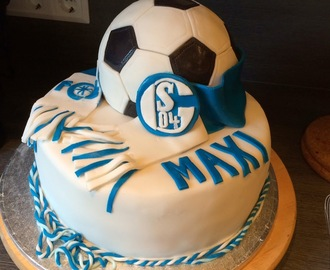 Motivtorte | Ole Ole Schalke 04 ... I follow you EDERMÜNDE