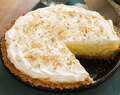 Coconut Cream Cheese Pie