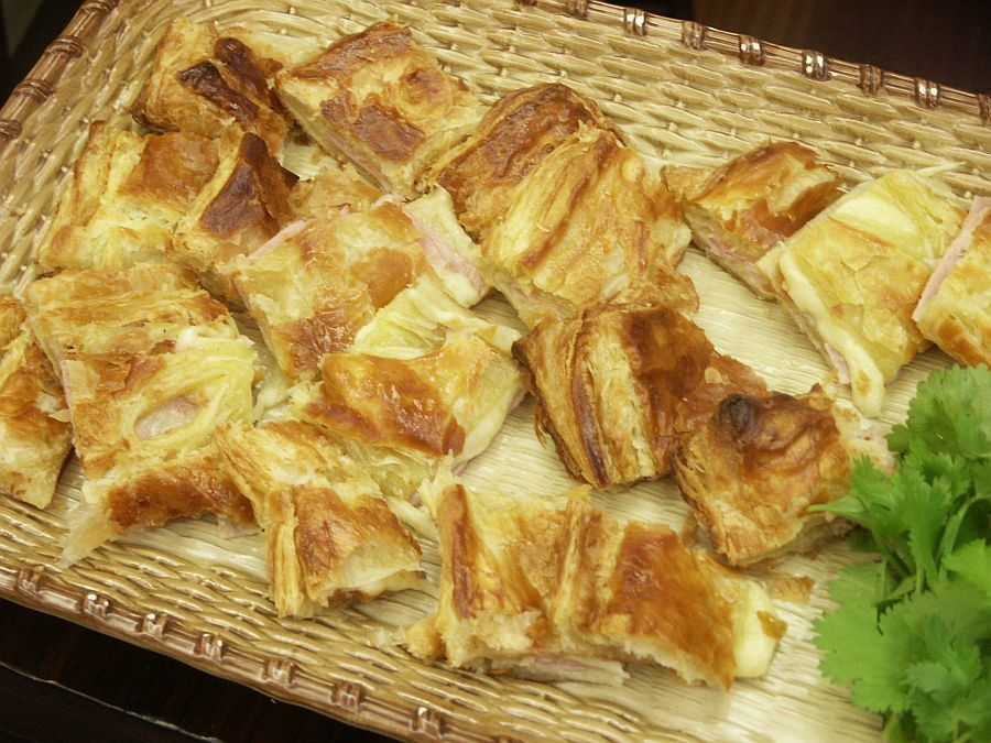 Ina's Ham and Cheese in Puff Pastry