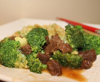 "The Future of Meat is Vegan … There ain't nothing ""faux"" about this Veggie Beef & Broccoli Dinner!"