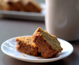 Wheat Jaggery Cake flavoured with Cardamom