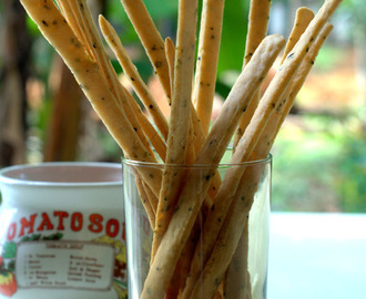 Grissini- Italian Bread Sticks