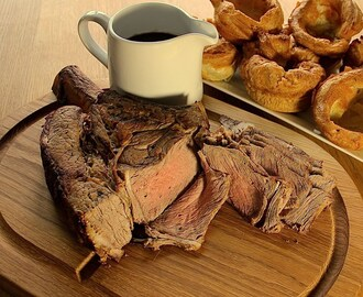 Waitrose Autumn Warmers – Roast Fore Rib of Beef with Yorkshire Pudding