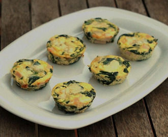 Mini Quiche de Espinacas