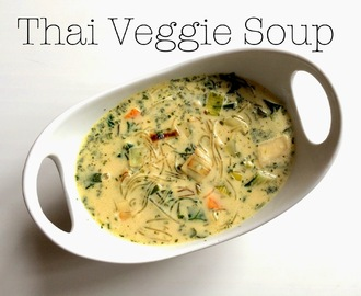 Clean and Quick - Thai Veggie Soup - vegan