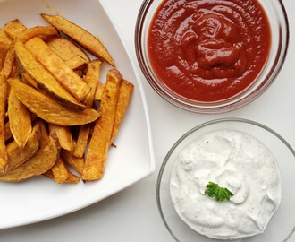Clean Ketchup and Clean Sour Cream