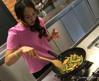 Cooking Chinese with Ching He Huang and Amoy sauces