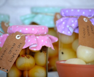 DIY Pickled Onions
