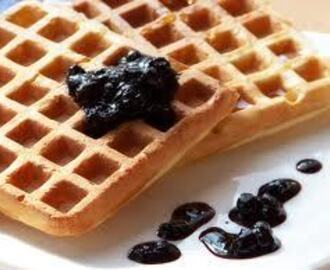 Z cyklu śniadania: GOFRY | From the series of breakfast: WAFFLES