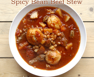 Spicy Bean Beef Stew