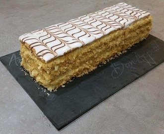 CREME PATISSIERE A LA VANILLE SPECIALE MILLEFEUILLE