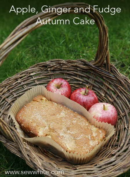 Apple, Ginger and Fudge Autumn Cake