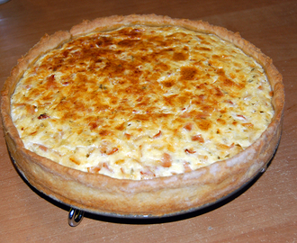Variable Schinken-Zwiebel-Quiche
