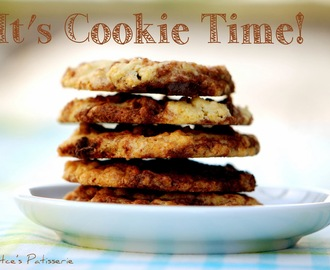 Marmor - Cookies mit Chocolate Chunks [It's Cookie time again!]