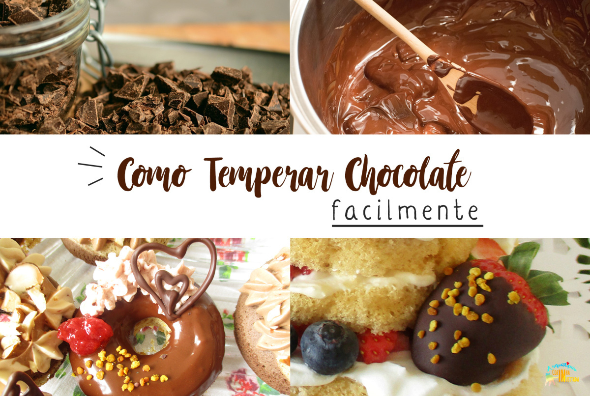 Como Temperar Chocolate facilmente – Guia do Método Seeding