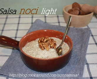 Salsa di noci light