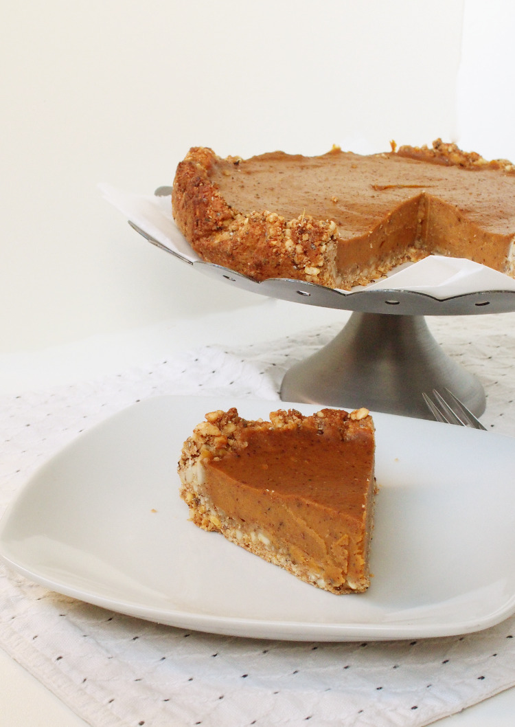 Cardmom Sweet Potato Pie (Gf)