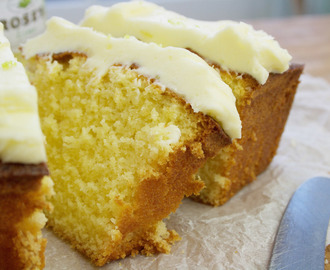 lime and fresh ginger loaf cake