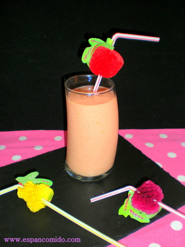 Smoothie de Papaya y Plátano