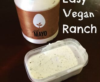 Easy Vegan Ranch
