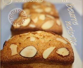 Recette de Financiers au beurre noisette / Brown Butter Financiers-Sousoukitchen