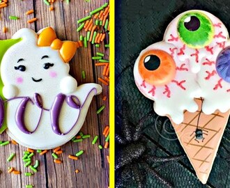 Sugar Cookies | Easy Birthday Cookie Decorating Ideas Halloween Compilation 2018 | Yummy Cookies