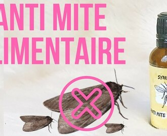 ✮ DIY ✮ Synergie d'huile essentielle Anti Mite Alimentaire  | Caly Beauty