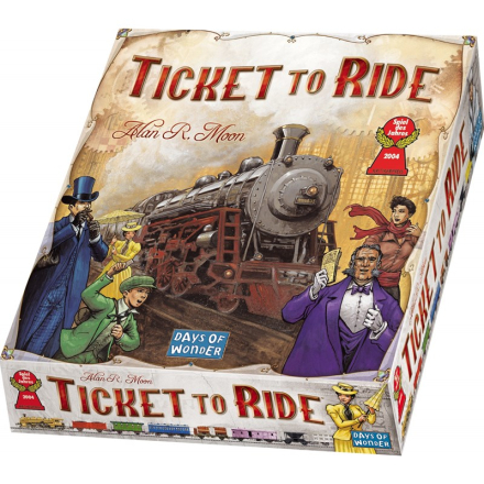 Days of WonderTicket to Ride, Sällskapsspel, USA
