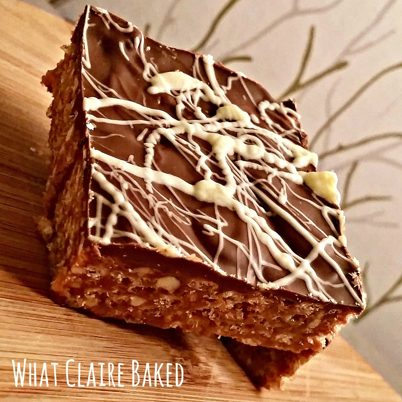 Reece's Inspired Peanut Butter Chocolate Traybake