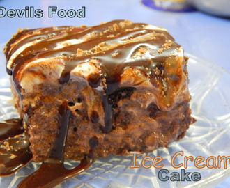Devils Food Ice Cream Cake/Pie