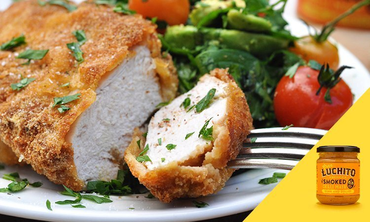 Crispy Smoked Chilli Breaded Chicken