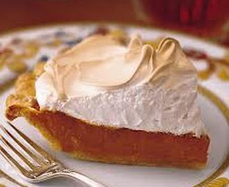 Toasted Marshmallow Meringue Sweet Potato Pie - Thanksgiving Dessert Prize Winner