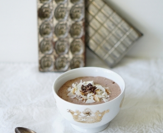 Suloinen suklaapuuro | Chocolate overnight oats